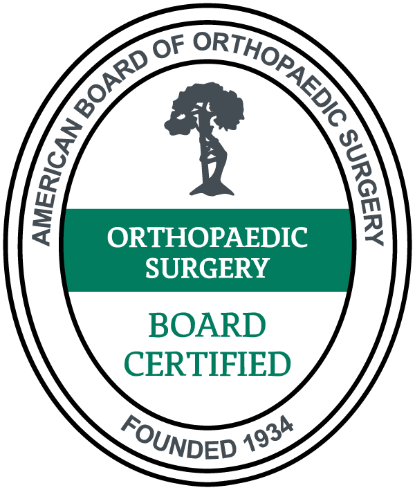 American Board of Orthopaedic Surgery Board Certified