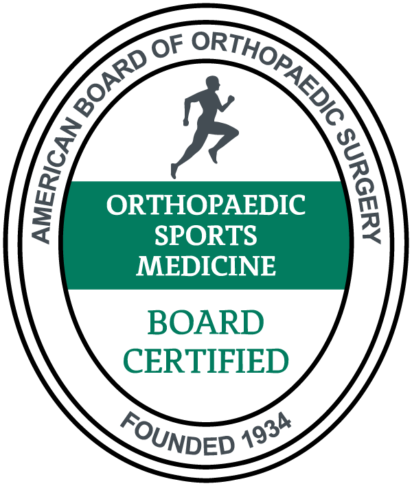 American Board of Orthopaedic Surgery Sports Medicine Board Certified