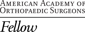 American Academy of Orthopaedic Surgeons Fellow