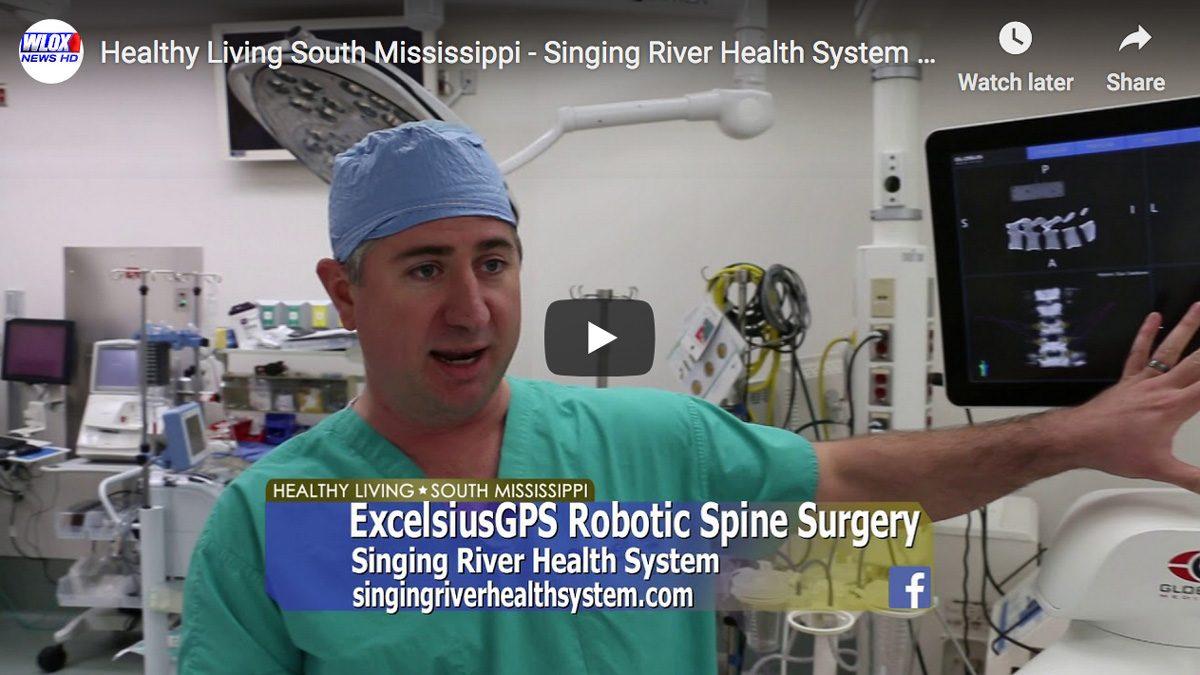 Dr. Burks and Dr. Graham Discuss ExcelsiusGPS™ Robotic Navigation Spine Surgery