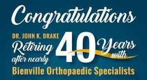 Dr Drake Retiring
