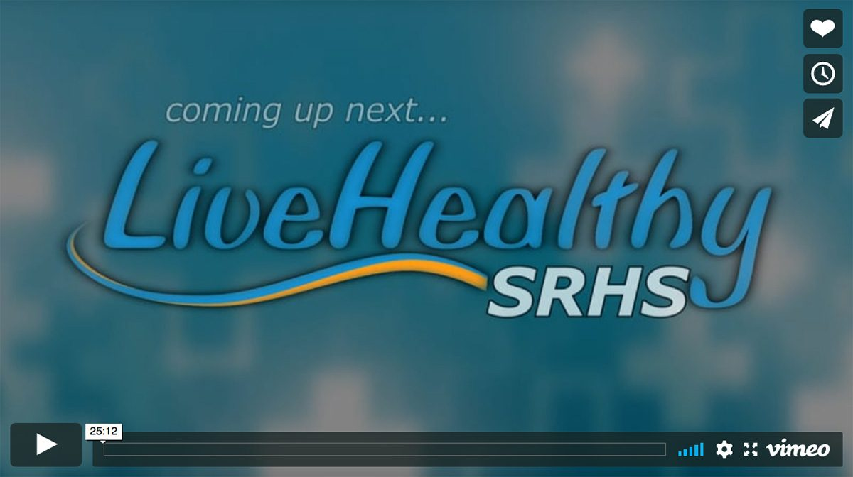 Dr. Drake and Dr. Wittersheim on the SRHS Live Healthy Show on WGUD